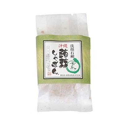 沖縄 蒟蒻しゃぼん 金 ゴーヤ ぷるぷる 洗顔石鹸 石鹸 保湿 泡立ちソープ