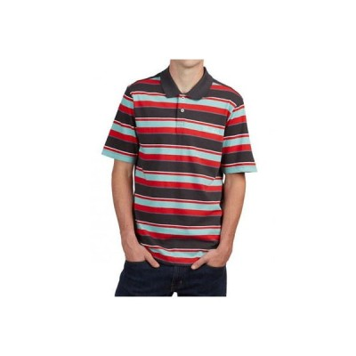 Tシャツ プリミティブ Primitive Men's Weedy Stripe Polo Shirt Tropical Multi-Color Clothing Apparel
