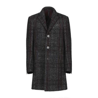 メッサジェリエ MESSAGERIE コート ブラック 50 ウール 56% / 合成繊維 24% / アクリル 10% / 毛(アルパカ) 8%