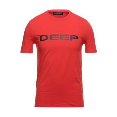ニール・バレット NEIL BARRETT T シャツ レッド XXS コットン 95% / ポリウレタン 5% T シャツ
