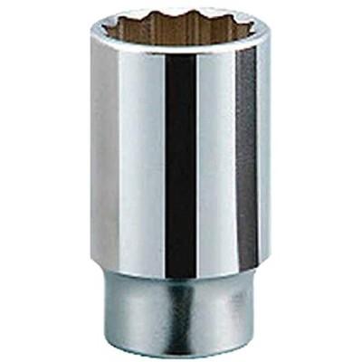 ケーテーシー 19.0mm 3/4インチ ディープソケット 十二角 38mm B4538(対辺寸法:38mm)