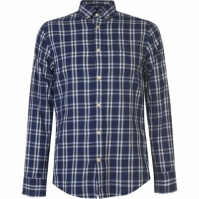ガント Gant メンズ シャツ トップス Long Sleeve Oxford Shirt Blue
