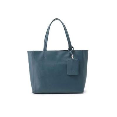 [ ティーケー タケオキクチ ] トートバッグ イタリアンレザートートバッグ 17001305 メンズ ブルー(092) 00