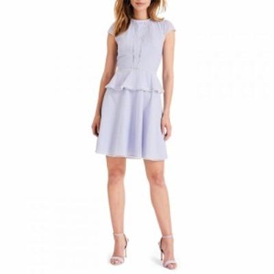 ダンセル Damsel in a Dress レディース ワンピース ワンピース・ドレス Elmira Dot Detail Dress Blue Multi