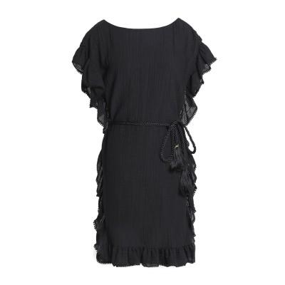 レイチェル・ゾー RACHEL ZOE ミニワンピース&ドレス ブラック XS コットン 53% / 麻 47% ミニワンピース&ドレス