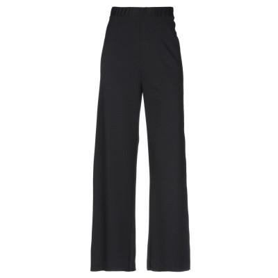 PIERANTONIO GASPARI パンツ ブラック 38 レーヨン 69% / ナイロン 25% / ポリウレタン 6% パンツ