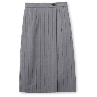 UNTITLED(アンタイトル)ワイドストライプ柄スカート