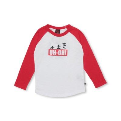【BABYDOLL】親子お揃い ディズニー ラグランロンT 3592K (Tシャツ・カットソー)Kids' T-shirts