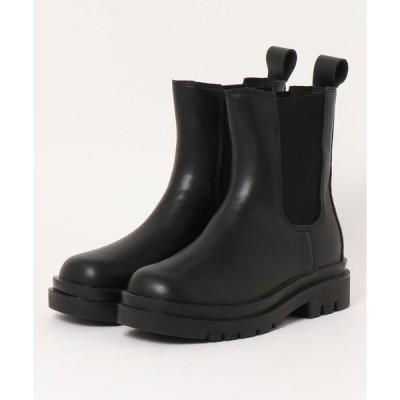 ブーツ サイドゴアビブラムタンクソールブーツ
