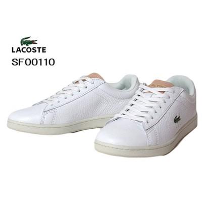 ラコステ LACOSTE SF00110 CARNABY EVO 0120 3 ホワイト スニーカー レディース 靴