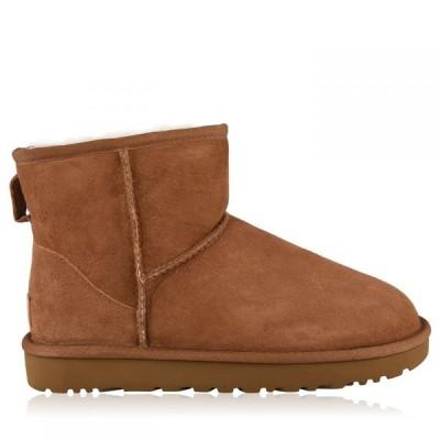 アグ Ugg レディース ブーツ シューズ・靴 Classic Mini Boots Chestnut