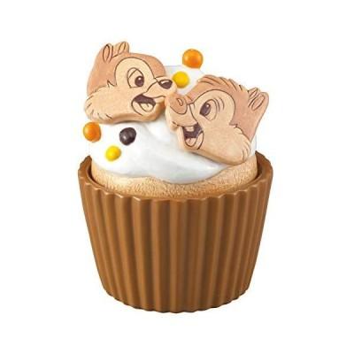 サンアート ディズニー 「 チップとデール 」 チップ&デール(カップケーキ型) 保存容器・キャニスター 9cm SAN2950-4 ベージュ
