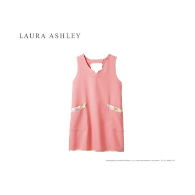 LAURA ASHLEY LW501 エプロン(女性用) ナースウェア・白衣・介護ウェア