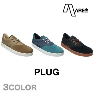AREth スニーカー 靴 PLUG アース 2017モデル 各2色 25.0-28.5cm areth
