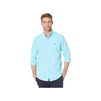 ポロ・ラルフローレン Classic Fit Garment Dyed Oxford Shirt メンズ シャツ トップス Green 2