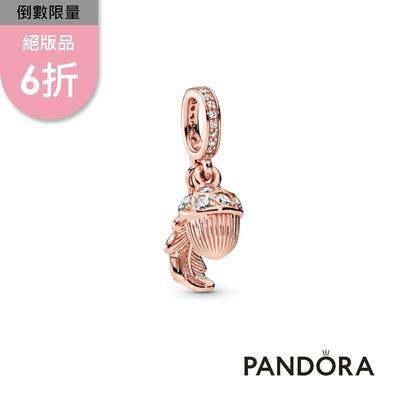 【Pandora官方直營】橡實與葉片吊飾