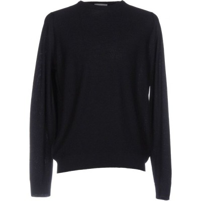 ジョンスメドレー JOHN SMEDLEY メンズ ニット・セーター トップス Sweater Dark blue