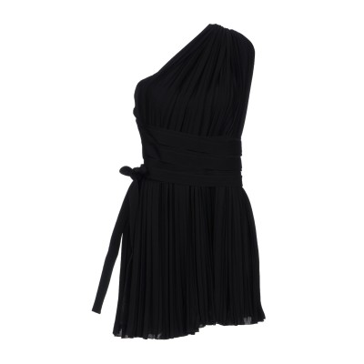 ディースクエアード DSQUARED2 ミニワンピース&ドレス ブラック 42 シルク 100% ミニワンピース&ドレス