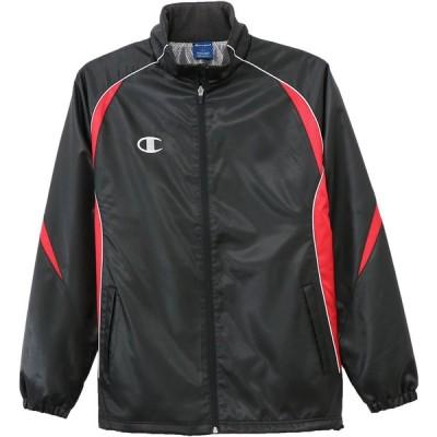 Champion チャンピオン ウィンドブレーカージャケット C3LSC21 ブラック/レッド