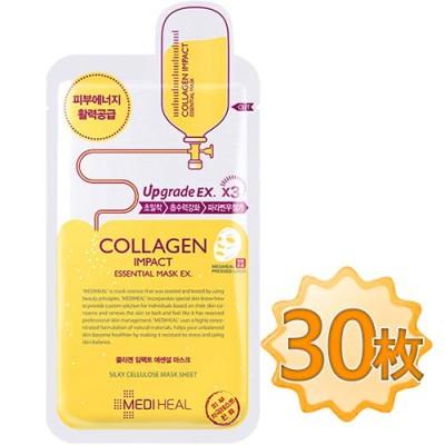 【正規品】メディヒール コラーゲン インパクト エッセンシャル マスク EX 10枚×3 / Mediheal Collagen Imp