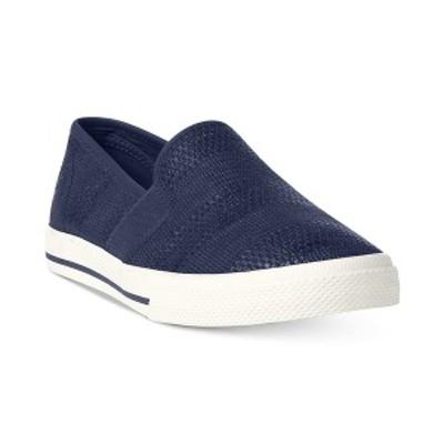 ラルフローレン レディース スニーカー シューズ Jinny Slip-On Sneakers Navy