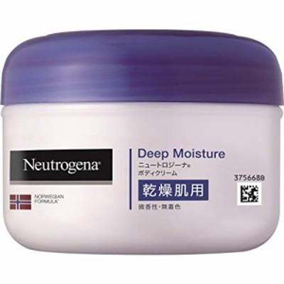 1個 Neutrogena(ニュートロジーナ) ノルウェーフォーミュラ ディープモイスチャー ボディクリーム 乾燥肌用 微香性 200ml 1個