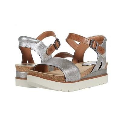 Josef Seibel ジョセフセイベル レディース 女性用 シューズ 靴 サンダル Clea 01 - Platin/Kombi