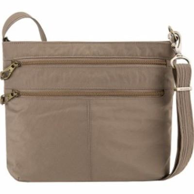 Travelon  ファッション バッグ Travelon Anti-Theft Signature Double Zip Crossbody Bag Cross-Body Bag NEW