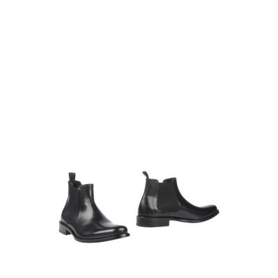 GIANFRANCO LATTANZI ショートブーツ ブラック 46 革 ショートブーツ