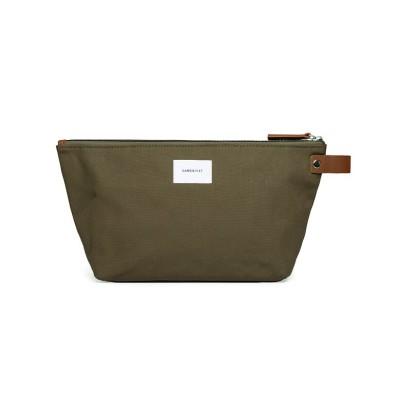 【カバンのセレクション】 サンドクヴィスト ポーチ 小物入れ メンズ SANDQVIST cleo ユニセックス オリーブ フリー Bag&Luggage SELECTION