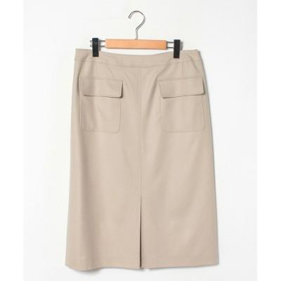 【レリアンプラスハウス】 ポケット付きタイトスカート レディース ベージュ系 13+ Leilian PLUS HOUSE