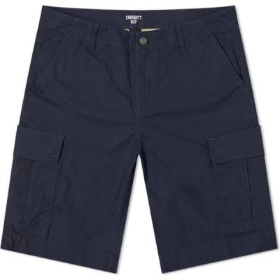 カーハート Carhartt WIP メンズ ショートパンツ カーゴ ボトムス・パンツ Regular Cargo Short Dark Navy