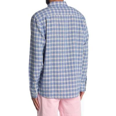 トッミーバハマ メンズ シャツ トップス Kona Plaid Regular Fit Shirt TURKISH SEA
