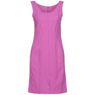 NINA RICCI ミニワンピース&ドレス モーブ 40 バージンウール 99% / ナイロン 1% ミニワンピース&ドレス