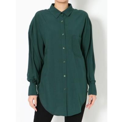 【ラグナムーン/LAGUNAMOON】 ダブルカフスオーバーシャツ