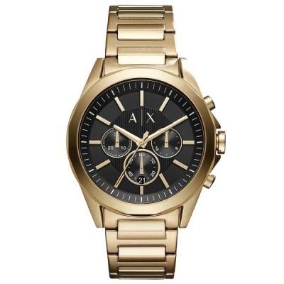 アルマーニ 腕時計 アクセサリー レディース Men's Chronograph Drexler Gold-Tone Stainless Steel Bracelet Watch 44mm Gold