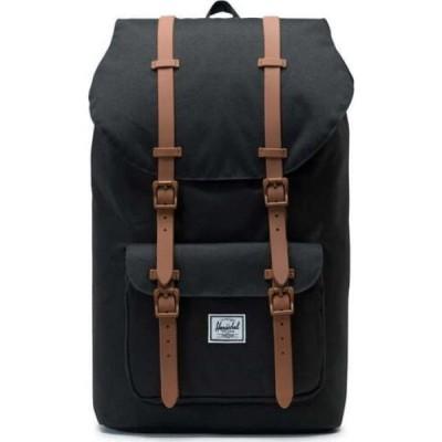 ハーシェル サプライ HERSCHEL SUPPLY CO. メンズ バックパック・リュック バッグ Little America Backpack Black/Saddle Brown