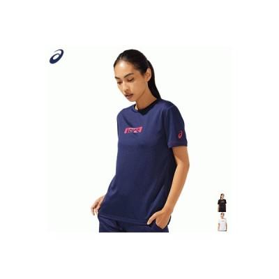 asics アシックス Tシャツ 半袖シャツ トレーニングウェア CA ショートスリーブトップ レディース 女性用 2032B986【CROPPED ASICS】【1枚までメール便OK】