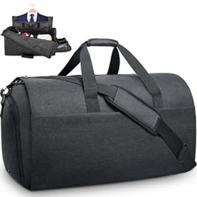 【CENTE】NEWHEY ガーメントバッグ メンズ ボストンバッグ ダッフルバッグ 修学 旅行 スーツバッグ 折りたたみ 大容量 靴収納 スーツ収納