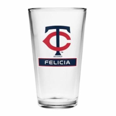 Boelter ベルター スポーツ用品  Minnesota Twins Personalized 16oz Full Color Pint Glass
