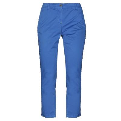 WHITE SAND 88 パンツ ブルー 38 コットン 97% / ポリウレタン 3% パンツ