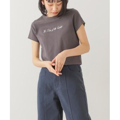 tシャツ Tシャツ 【WEB限定】BeAMS DOT / ロゴ刺繍ミニTシャツ
