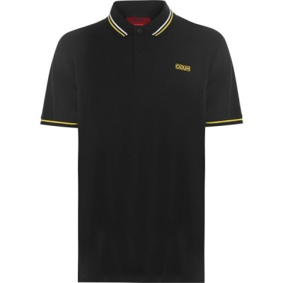 ヒューゴ ボス HUGO メンズ ポロシャツ 半袖 トップス Daruso Short Sleeve Polo Shirt Black