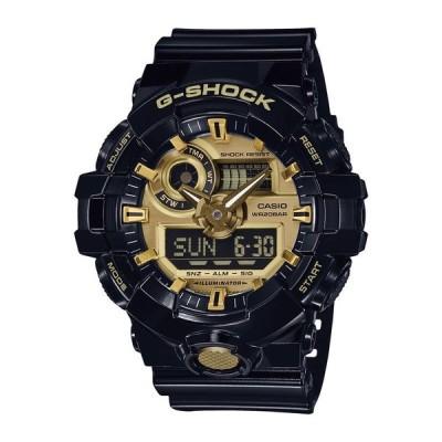 カシオ G-SHOCK ベーシック GA-710GB-1AJF メンズ 腕時計