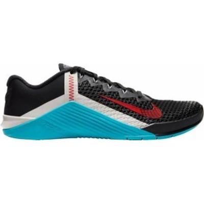 ナイキ メンズ スニーカー シューズ Nike Men's Metcon 6 Training Shoes Blk/Uni Red/Lt Blue Fury