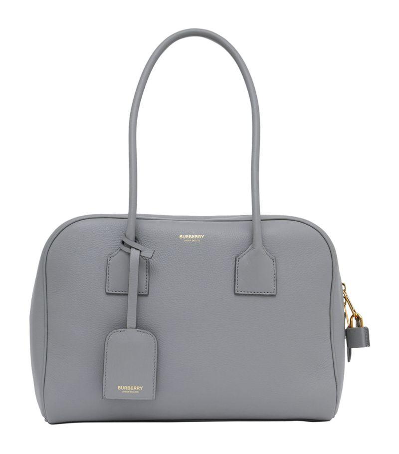 Burberry Medium Leather Half Cube Bag