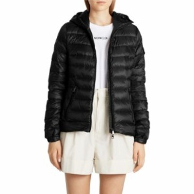 モンクレール MONCLER レディース ダウン・中綿ジャケット アウター Bles Water Resistant Lightweight Down Puffer Jacket Black