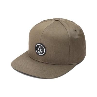Volcom Quarter Twill Snapback Hat Cap Military キャップ 送料無料