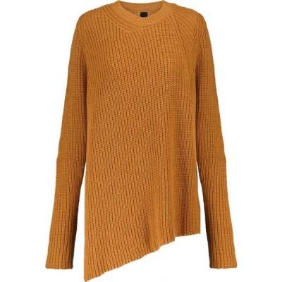 ペーター ペトロフ Petar Petrov レディース ニット・セーター トップス Nacha asymmetric cashmere sweater Oriole