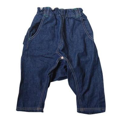 MEIN HEIM マインハイム 子供服 7分丈タボットデニムパンツ(やわらかデニム) (110cm-130cm)児島デニム